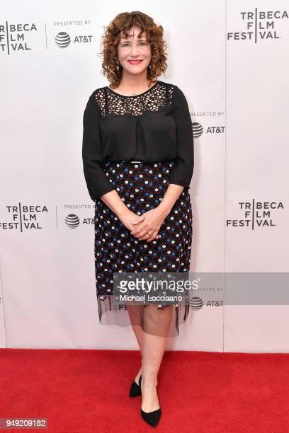 Bonnie McNeil attends the screening of 'Dead Women Walking' during the Tribeca Film Festival at Cinepolis Chelsea on April 20 2018 in New York City