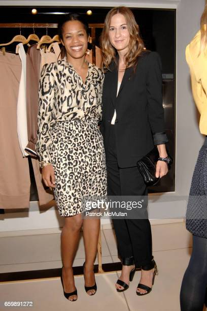 Bonnie Morrison and Alexandra Fritz attend CHLOE VOGUE Host a Preview of the Spring/Summer 2010 Collection at Chloe Boutique on December 7 2008 in...
