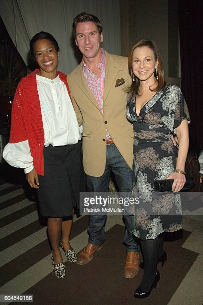 Bonnie Morrison Peter Davis and Bettina Zilkha attend THE CINEMA SOCIETY and COLE HAAN host the afterparty for CANDY at Soho Grand Hotel on November...