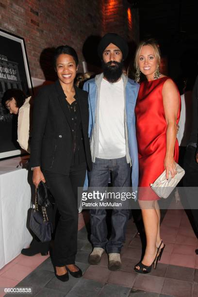 Bonnie Morrison Waris Ahuwalia and Tracy Smith attend House of Lavande Hosts the Nest Foundation Gala at Bowery Hotel on May 1 2009 in New York City