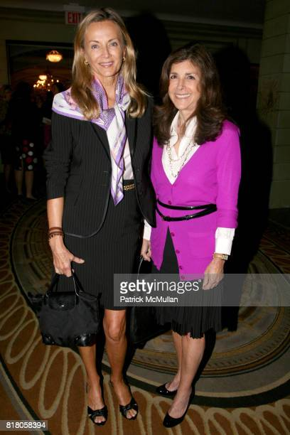 Bonnie Pfeifer Evans and Alice Shure attend Alzheimer's Drug Discovery Foundation Inaugural Foundation Luncheon at The Pierre Hotel on September 22nd...