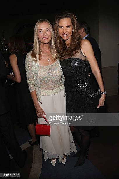 Bonnie Pfeifer Evans and Cynthia Ott attend The Prostate Cancer Research Foundation Benefit Dinner on December 7 2016 in New York City