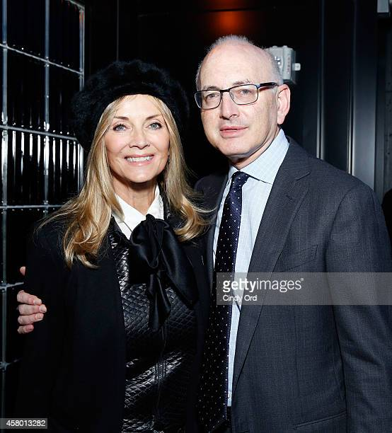 Bonnie Pfeifer Evans and Dr Stephen D Nimer attend Gabrielle's Angel Foundation for Cancer Research 5th annual medical symposium welcome cocktail...