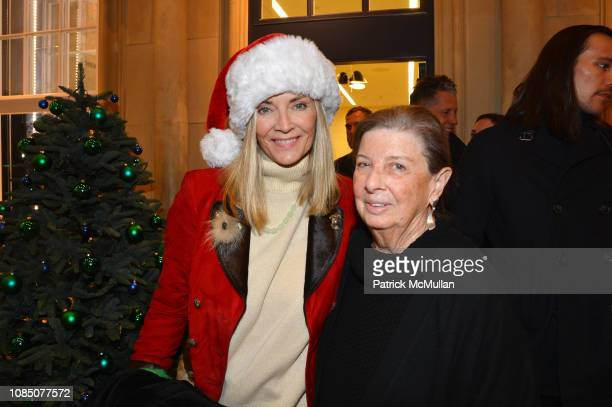 Bonnie Pfeifer Evans and Nan Bush attend Bruce Weber's Release Of His New Book AllAmerican XVIII on December 11 2018 in New York City