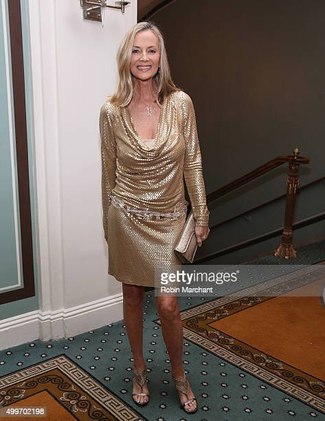 Bonnie Pfeifer Evans attend the Prostate Cancer Foundation Invites You To The 2015 New York Dinner With Celebrity Hosts Whoopi Goldberg John O'Hurley...