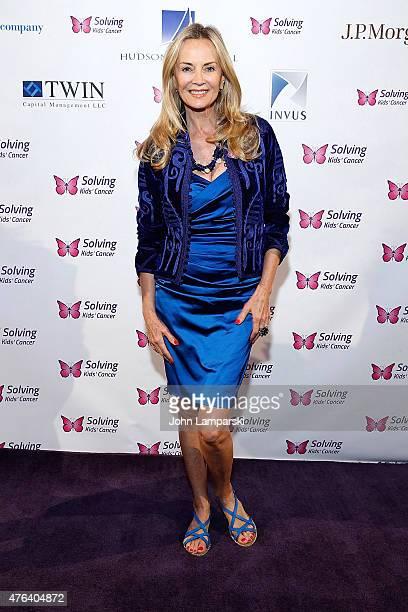 Bonnie Pfeifer Evans attends 2015 Solving Kids' Cancer Spring Celebration at 583 Park Avenue on June 8 2015 in New York City