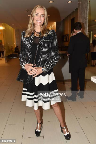 Bonnie Pfeifer Evans attends Audrey Gruss Marc Metrick Host hope Fragrance Luncheon at Cafe SFA Saks Fifth Avenue on September 19 2017 in New York...