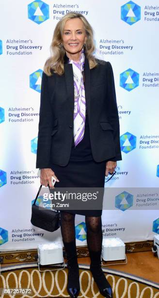 Bonnie Pfeifer Evans attends Hope on the Horizon Alzheimer's Drug Discovery Foundation Eighth Annual Fall Symposium Luncheon on October 27 2017 at...