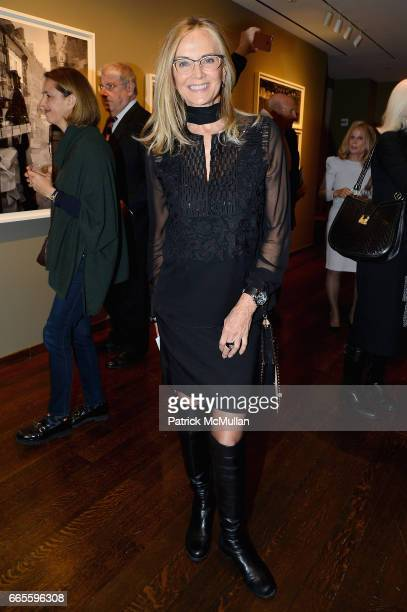 Bonnie Pfeifer Evans attends the Opening Reception for Judy Glickman Lauder Upon Reflection at Howard Greenberg Gallery on April 6 2017 in New York...