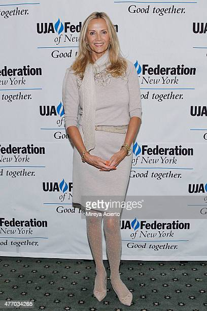 Bonnie Pfeifer Evans attends UJAFederation of New York's Fashion Division 2014 annual luncheon at The Pierre Hotel on March 6 2014 in New York City