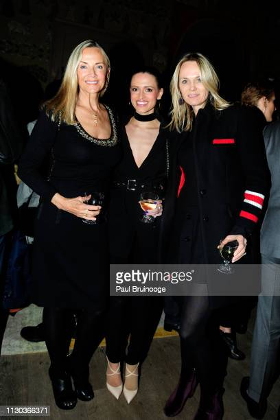 Bonnie Pfeifer Evans Emily Junkins and Lise Evans attend Fox Searchlight Pictures Hosts A Special Screening Of The Aftermath at The Whitby Hotel on...