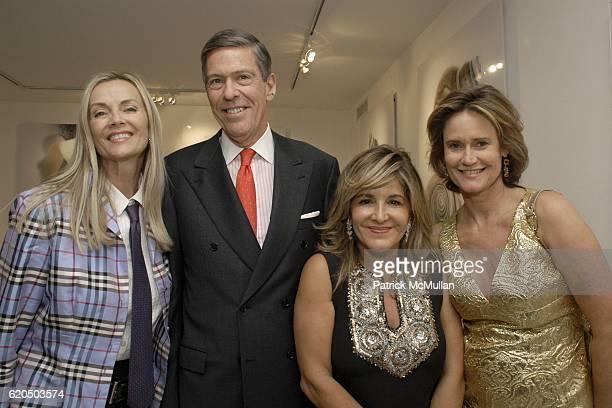 Bonnie Pfeifer Evans Steven Tanger Leila TahhiniaMilani Heller and Elizabeth Fekkai attend LEILA TAGHINIAMILANI HELLER GALLERY opening for IRAN...