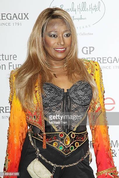 Bonnie Pointer arrives at the Beverly Hills Hotel 100th Anniversary Celebration held on June 16 2012 in Beverly Hills California