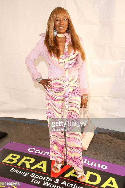 Bonnie Pointer attends the grand opening of Bravada Women's Athletica on Robertson Blvd on June 10 2010 in Los Angeles California