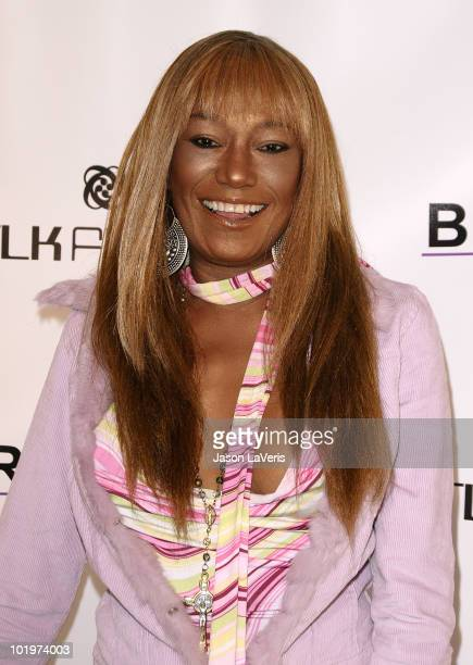 Bonnie Pointer of The Pointer Sisters attends the grand opening of Bravada Women's Athletica on June 10 2010 in Los Angeles California