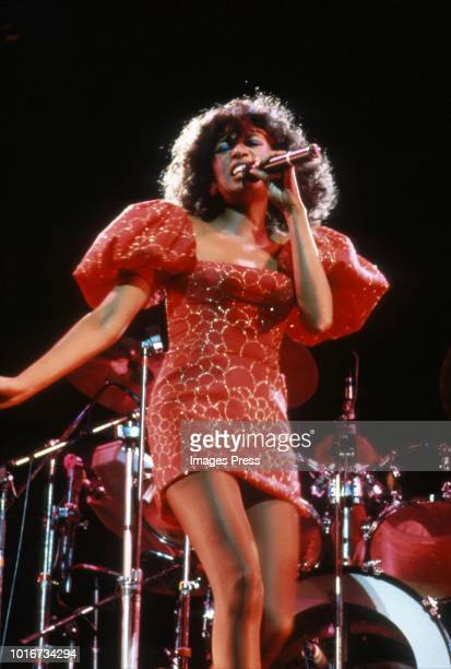 Bonnie Pointer of the Pointer Sisters circa 1983 in New York City