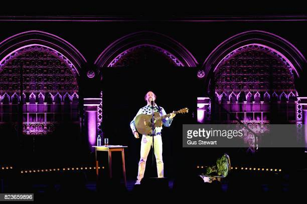 Bonnie 'Prince' Billy performs on stage at the Union Chapel on July 27 2017 in London England