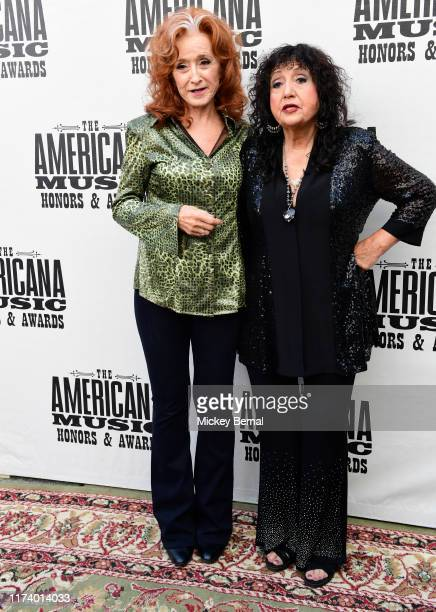 Bonnie Raitt and and Maria Muldaur 18th Annual Americana Honors Awards at Ryman Auditorium on September 11 2019 in Nashville Tennessee