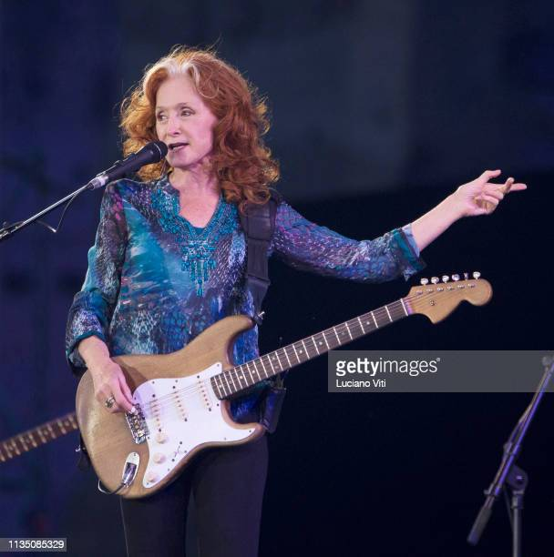 Bonnie Raitt and James Taylor perfom at Terme di Caracalla Rome Italy 23rd July 2018