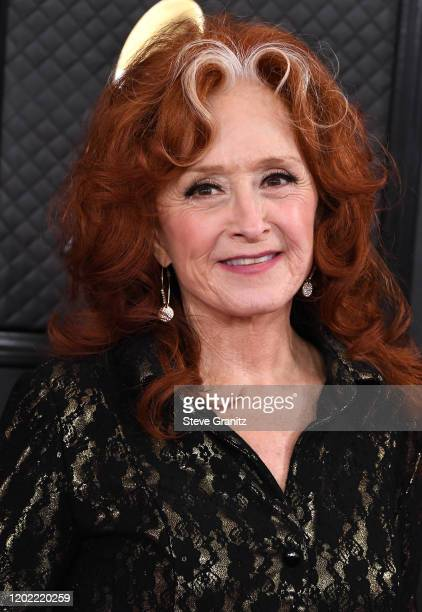 Bonnie Raitt arrives at the 62nd Annual GRAMMY Awards at Staples Center on January 26, 2020 in Los Angeles, California.