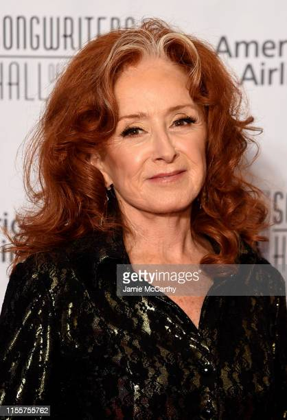 Bonnie Raitt attends the 2019 Songwriters Hall Of Fame at The New York Marriott Marquis on June 13 2019 in New York City