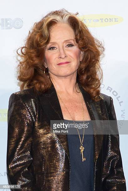 Bonnie Raitt attends the 29th Annual Rock And Roll Hall Of Fame Induction Ceremony at Barclays Center on April 10 2014 in the Brooklyn borough of New...