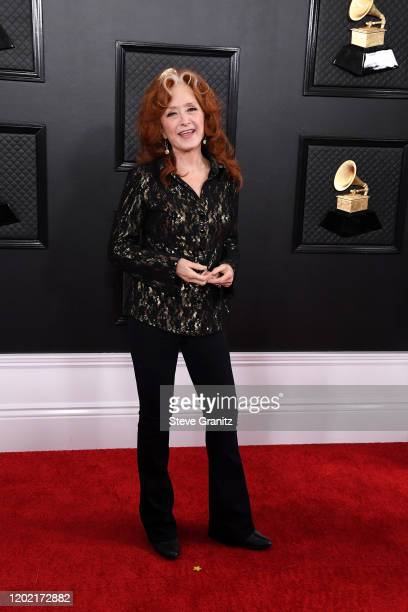 Bonnie Raitt attends the 62nd Annual GRAMMY Awards at Staples Center on January 26, 2020 in Los Angeles, California.