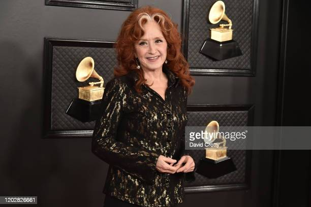 Bonnie Raitt attends the 62nd Annual Grammy Awards at Staples Center on January 26, 2020 in Los Angeles, CA.