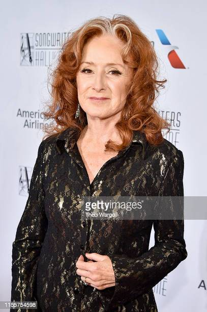 Bonnie Raitt attends the Songwriters Hall Of Fame 50th Annual Induction And Awards Dinner at The New York Marriott Marquis on June 13 2019 in New...