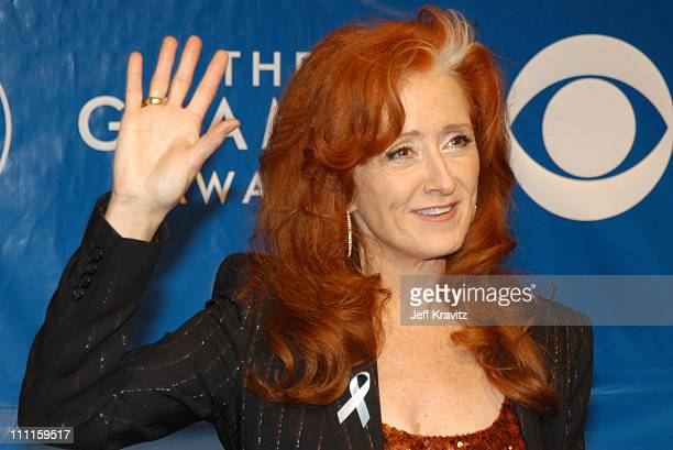 Bonnie Raitt during The 45th Annual GRAMMY Awards Arrivals at Madison Square Garden in New York NY United States
