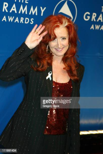 Bonnie Raitt during The 45th Annual GRAMMY Awards Arrivals by Gregory Pace at Madison Square Garden in New York NY United States