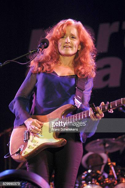 Bonnie Raitt guitar performs at the North Sea Jazz Festival on July 12th 2003 in Amsterdam Netherlands