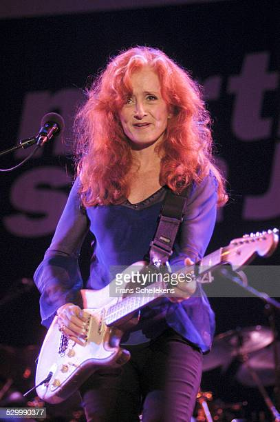Bonnie Raitt, guitar, performs at the North Sea Jazz Festival on July 12th 2003 in Amsterdam, Netherlands.