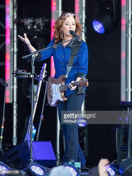 Bonnie Raitt is seen at 'Jimmy Kimmel Live' on July 26 2016 in Los Angeles California
