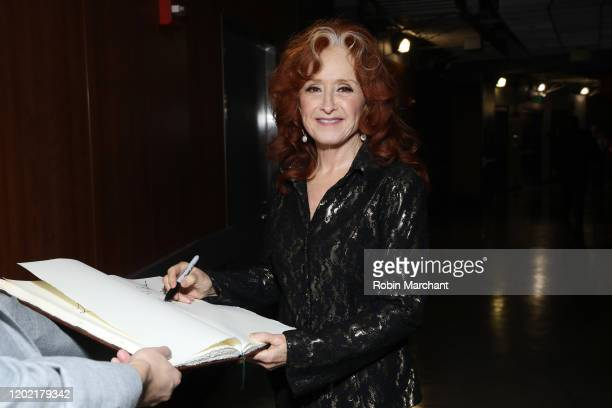 Bonnie Raitt is seen at the GRAMMY Charities Signings during the 62nd Annual GRAMMY Awards at STAPLES Center on January 26, 2020 in Los Angeles,...
