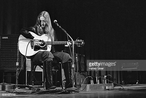 Bonnie Raitt performing as the opening act for The Byrds during a concert at Queens College in New York March 21 1971