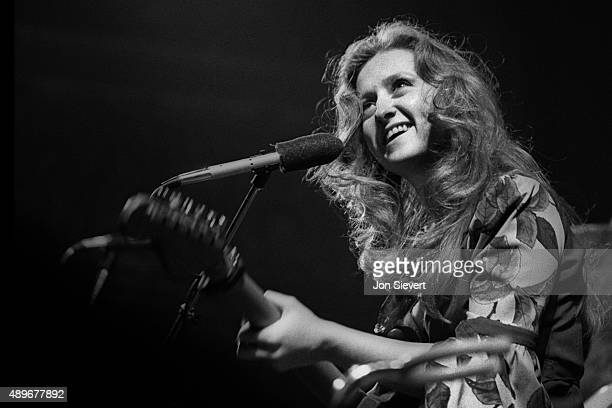 Bonnie Raitt performs at the Great American Music Hall in San Francisco CA on May 25 1976