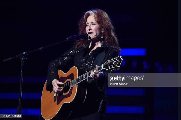 Bonnie Raitt performs during the 62nd Annual GRAMMY Awards at STAPLES Center on January 26, 2020 in Los Angeles, California.
