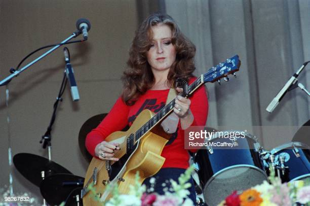 Bonnie Raitt performs live at The Greek Theatre in 1979 in Berkeley California