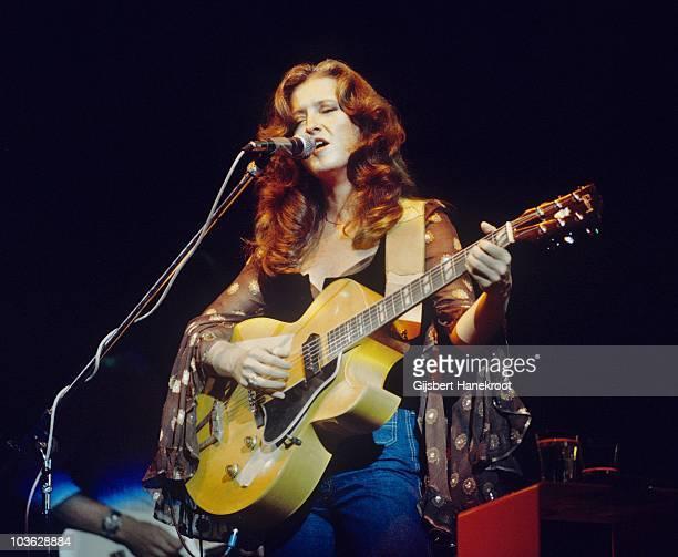 Bonnie Raitt performs live in Amsterdam Netherlands in 1976