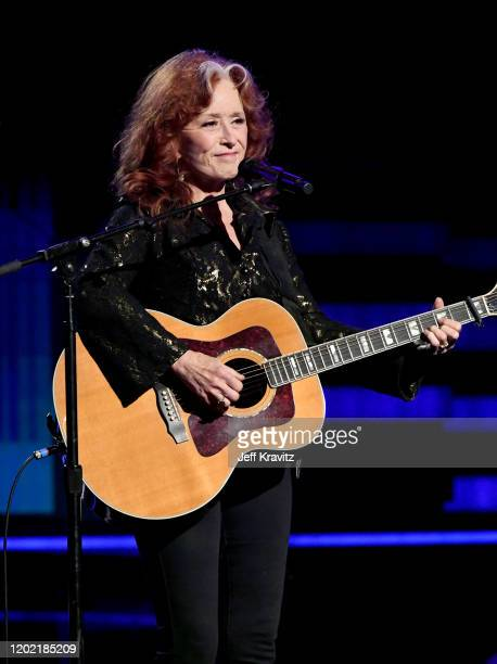 Bonnie Raitt performs onstage during the 62nd Annual GRAMMY Awards at Staples Center on January 26, 2020 in Los Angeles, California.