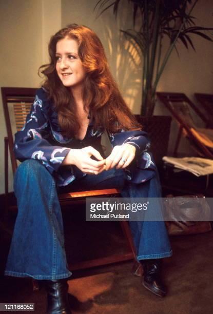 Bonnie Raitt portrait London 19th March 1976