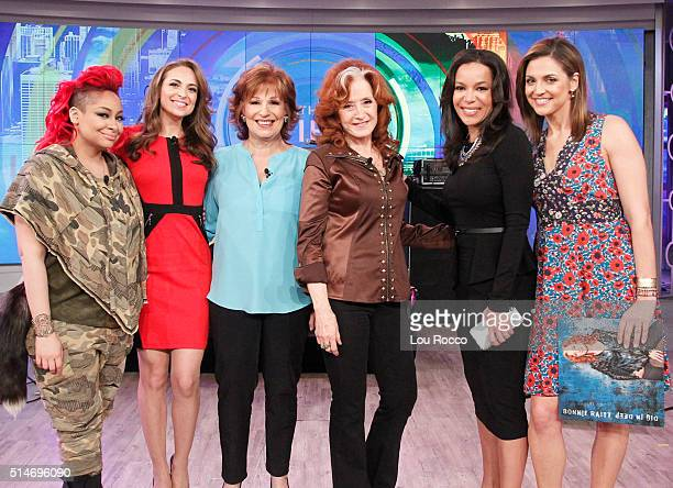 THE VIEW Bonnie Raitt visits THE VIEW 3/9/16 airing on the Walt Disney Television via Getty Images Television Network FARIS