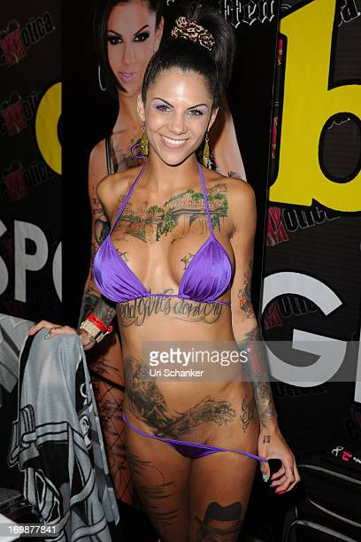 Bonnie Rotten attends Exxxotica Expo 2013 on June 2 2013 in Fort Lauderdale Florida