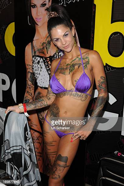Bonnie Rotten attends Exxxotica Expo 2013 on June 2, 2013 in Fort Lauderdale, Florida.