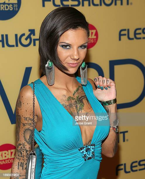 Bonnie Rotten attends the 2013 XBIZ Awards at the Hyatt Regency Century Plaza on January 11, 2013 in Los Angeles, California.