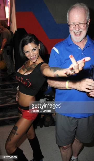 Bonnie Rotten participates in Porn Star Bowling for the Free Speech Coalition held at Corbin Bowl on July 28 2013 in Tarzana California