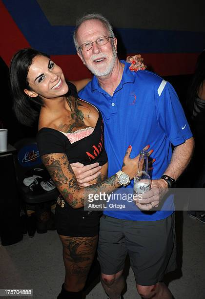 Bonnie Rotten participates in Porn Star Bowling for the Free Speech Coalition held at Corbin Bowl on July 28, 2013 in Tarzana, California.