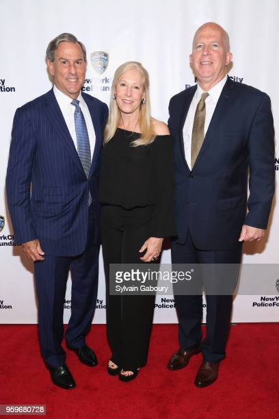 Bonnie Rudin Mitchel Rudin and James O'Neill attend the New York City Police Foundation 2018 Gala on May 17 2018 in New York City
