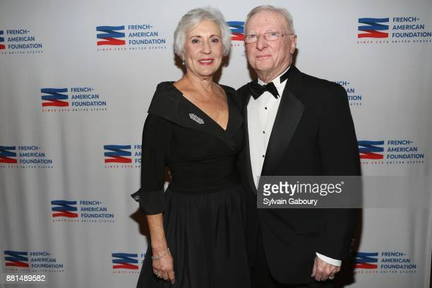Bonnie Smith and Anthony Smith attend French American Foundation Annual Gala 2017 at Gotham Hall on November 28 2017 in New York City
